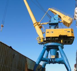 Modernization of the crane equipment